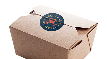 Takeout Labels Templates