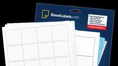 standard label sizes