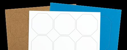 octagon labels