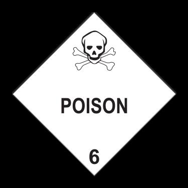 Poison Hazard Labels