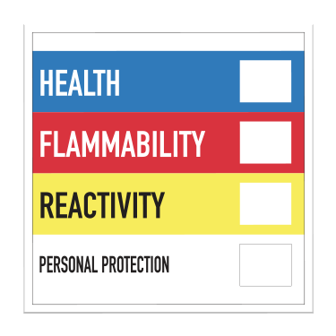 Hazardous Material Identification Label