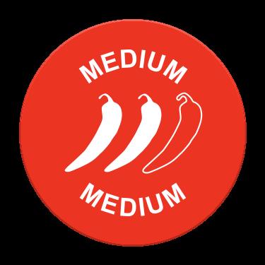 Medium Spice Label