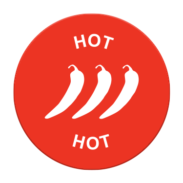 Hot Spice Label