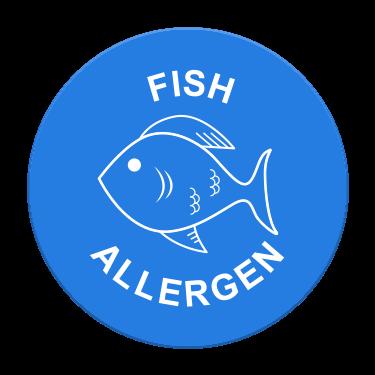 Fish Allergen Label