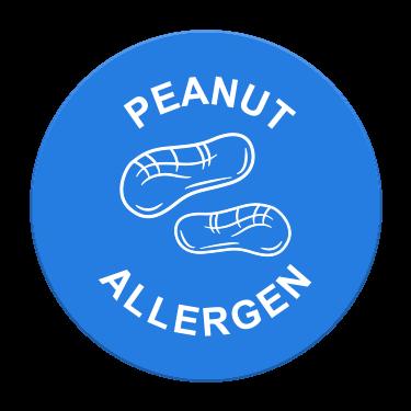 Peanut Allergen Label
