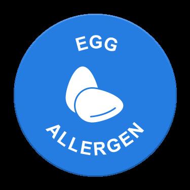 Egg Allergen Label