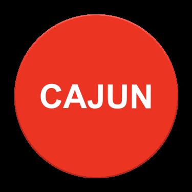 Cajun Flavor Label