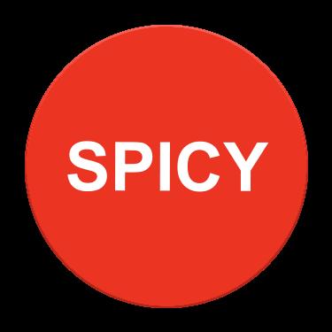 Spicy Flavor Label