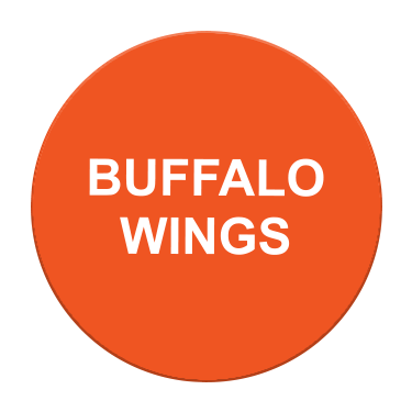 Buffalo Wings Label