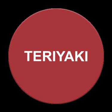 Teriyaki Flavor Label