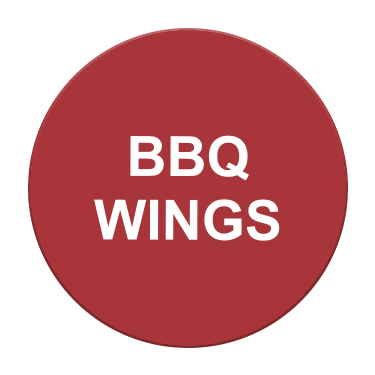 BBQ Wings Label