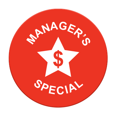 Manager's Special Label