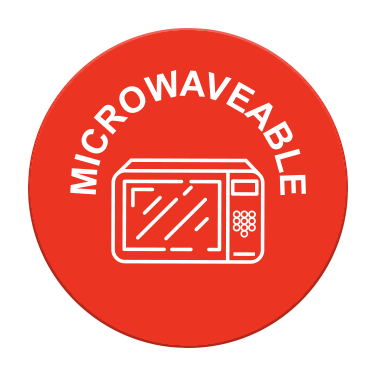 Microwave Icon Label