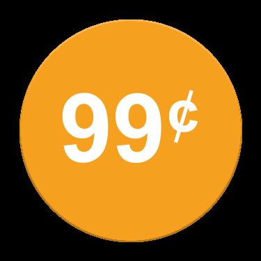 99¢ Label