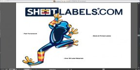 outline fonts in artwork files for printed labels